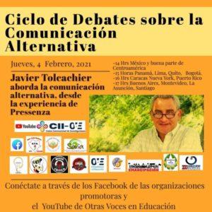 Javier Tolcachier: a comunicação alternativa a partir da experiência de Pressenza