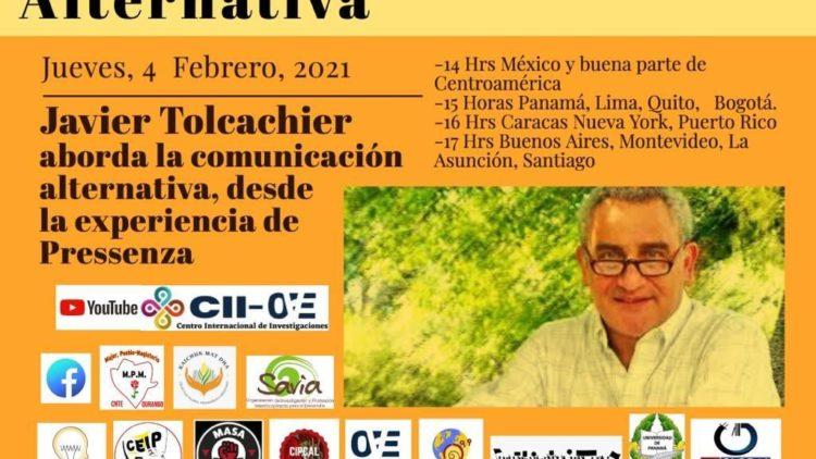 Javier Tolcachier : Communication alternative à partir de l'expérience de Pressenza