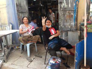 La resistenza civile del Myanmar
