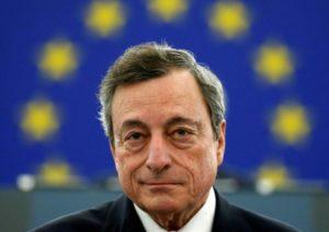 Ed in scena arrivò Mario Draghi, deus ex machina