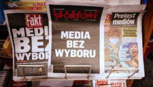 Il giornalismo libero sta lentamente morendo in Polonia