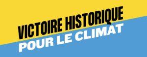 L'affaire du siècle: vittoria per il clima