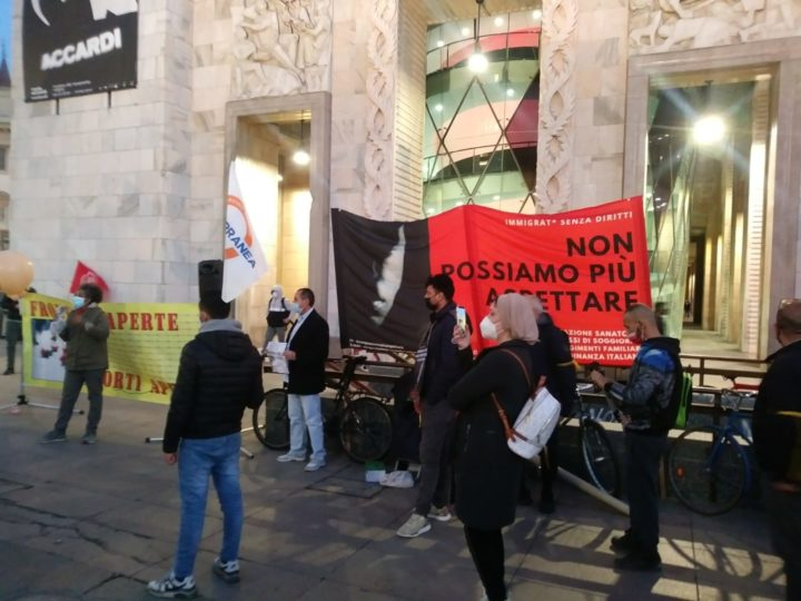1° marzo, i migranti portano in piazza richieste, esperienze ed emozioni