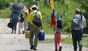 Cada media hora es desplazada una persona en Colombia