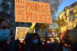 Halb Frankreich gegen das Sicherheitsgesetz