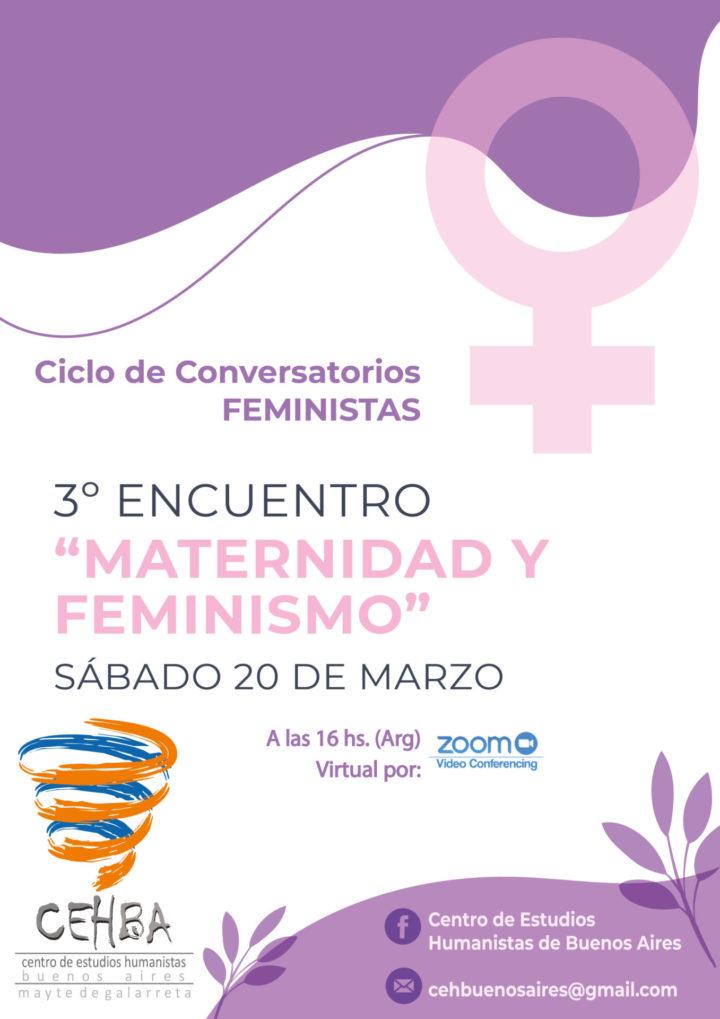 Tercer conversatorio feminista: «Maternidad y Feminismo»