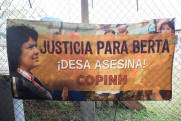 Berta Cáceres gedenken, Gerechtigkeit einfordern