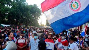 Paraguay | Continúa la manifestación contra el Gobierno y Abdo pide a todos los ministros que pongan sus cargos a disposición