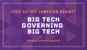 La società civile dice no alla creazione di un organismo per la governance digitale dominato dalla Big Tech