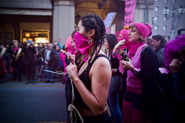 L'otto marzo: sciopero femminista e transfemminista a Bologna. La mobilitazione in zona rossa.