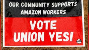 Biden apoya el derecho de los trabajadores de Amazon a afiliarse a un sindicato