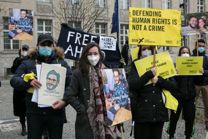 Free Ahmed Samir, proteste in tutto il mondo