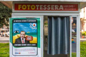 A Roma, il presidio contro il regime fascista turco