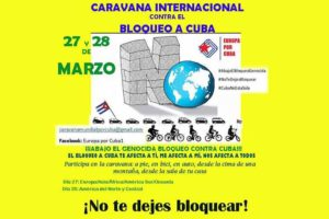 More than 50 countries confirm actions against blockade on Cuba
