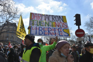 Γαλλία: Πορείες Αλληλεγγύης