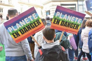 Paris. Manifestação climática