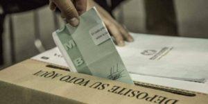 Se adelanta la campaña electoral en Colombia