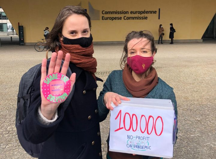 Vaccines: European Citizens' Initiative for lifting patents reaches first 100.000 threshold