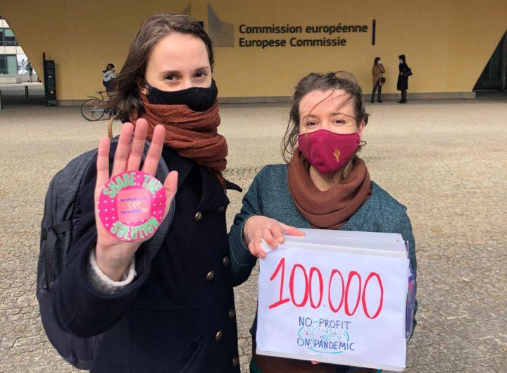 Εμβόλια: Η Πρωτοβουλία Ευρωπαίων Πολιτών για την άρση διπλωμάτων ευρεσιτεχνίας φτάνει το πρώτο όριο των 100.000 υπογραφών