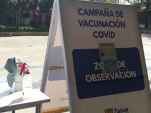 Comienza segunda dosis de vacunación en Chile