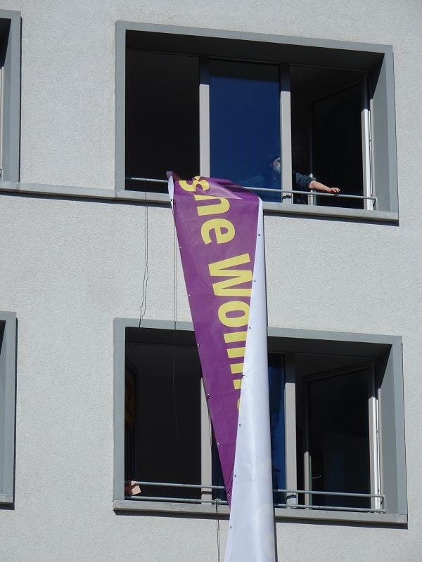 Kündigungsdrohung wegen Kampagnen-Banner_05