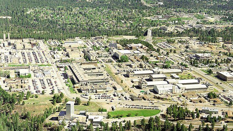 Aerial view of Los Alamos National Laboratory