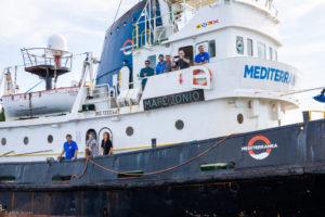 Perquisizioni a tappeto a carico di Mediterranea Saving Humans