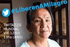 Weltweiter Aufruf für die Freiheit von Milagro Sala