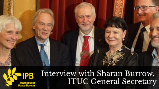 Interview with Sharan Burrow, ITUC General Secretary