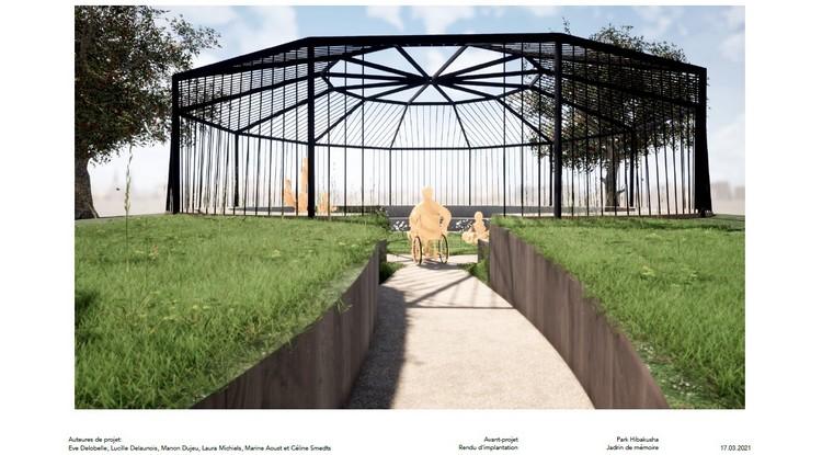 Der Hibakusha Park - ein Ort des Gedenkens an Hiroshima und Nagasaki in Europa