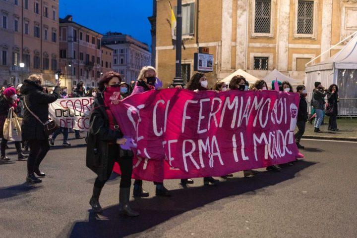8 Marzo a Roma: le foto