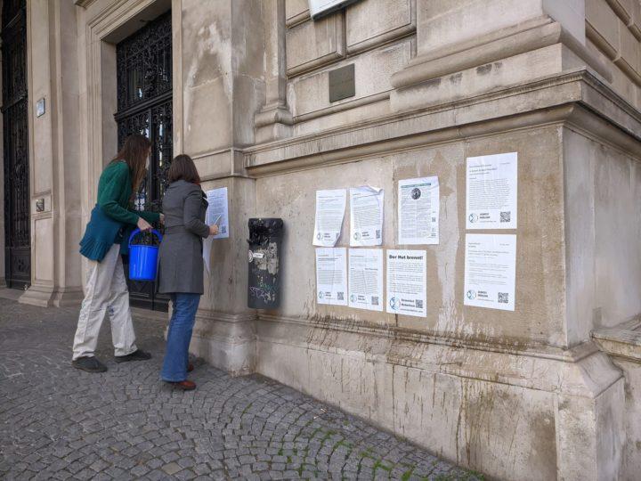 Scientist Rebellion: Plakative Botschaft und Aufruf zum Aufstand der Wissenschaftler*Innen