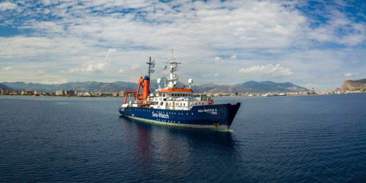 ll TAR di Palermo sospende il fermo delle navi di Sea-Watch