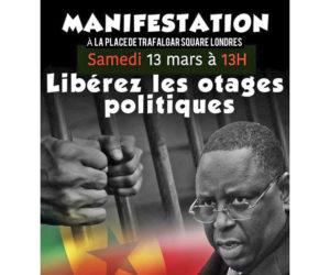 Senegaleses piden por Ousmane Sonko