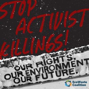Filipino Environmental Advocates' Plea: Stop Activist Killings