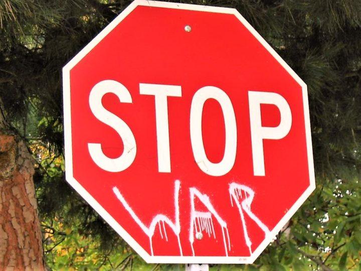 """Fermiamo la Guerra!"""