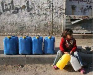 Solo il 4% delle case di Gaza ha accesso all'acqua potabile