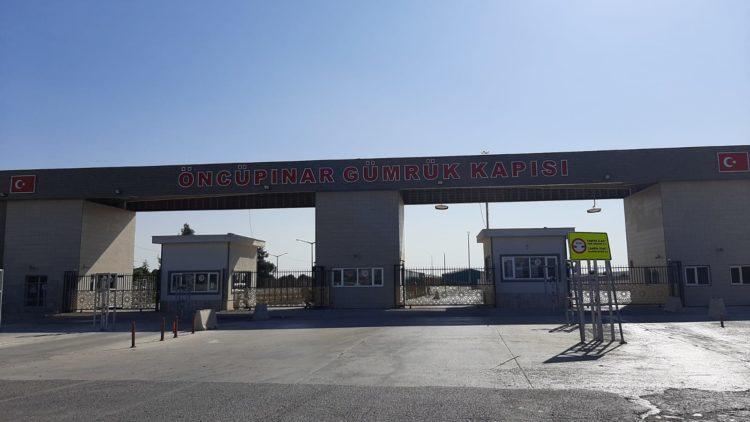 confine ufficiale Siria Turchia
