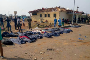 Una cadena de explosiones deja más de 100 muertos y alrededor de 600 heridos en Guinea Ecuatorial