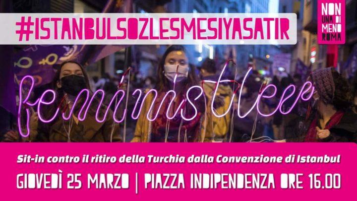 Roma | Sit-in: Solidali con le donne che vivono in Turchia!