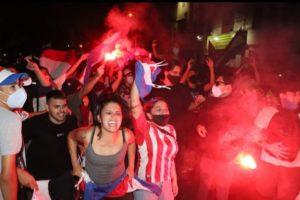 Prosigue la revuelta popular en Paraguay