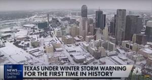 Os fenômenos climáticos e energéticos do Texas