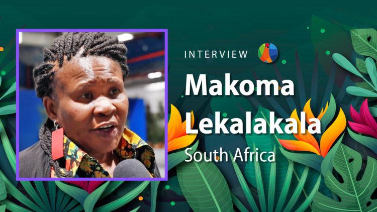 Femmes constructrices de futur : Makoma Lekalakala