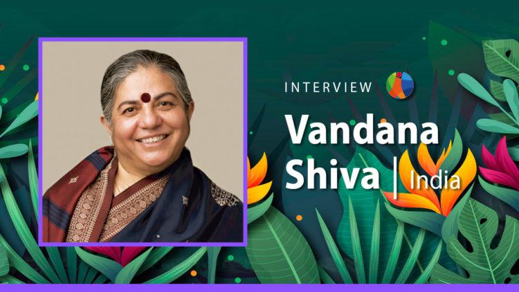 Femmes Constructrices de futur : Vandana Shiva