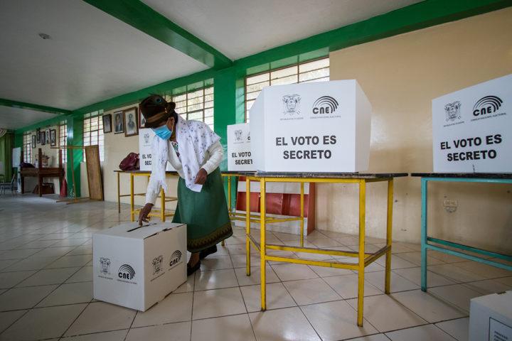 Ecuador: la expectativa por el resultado de las elecciones se mantiene.