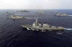 Manöver in Ostasien