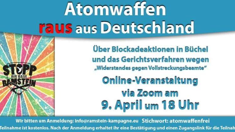 Atomwaffen raus aus Deutschland – Über Blockadeaktionen in Büchel