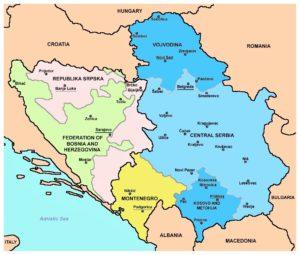 Lo smembramento dei Balcani?