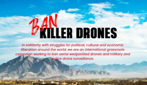 Support a Treaty to Ban Weaponized & Surveillance Drones