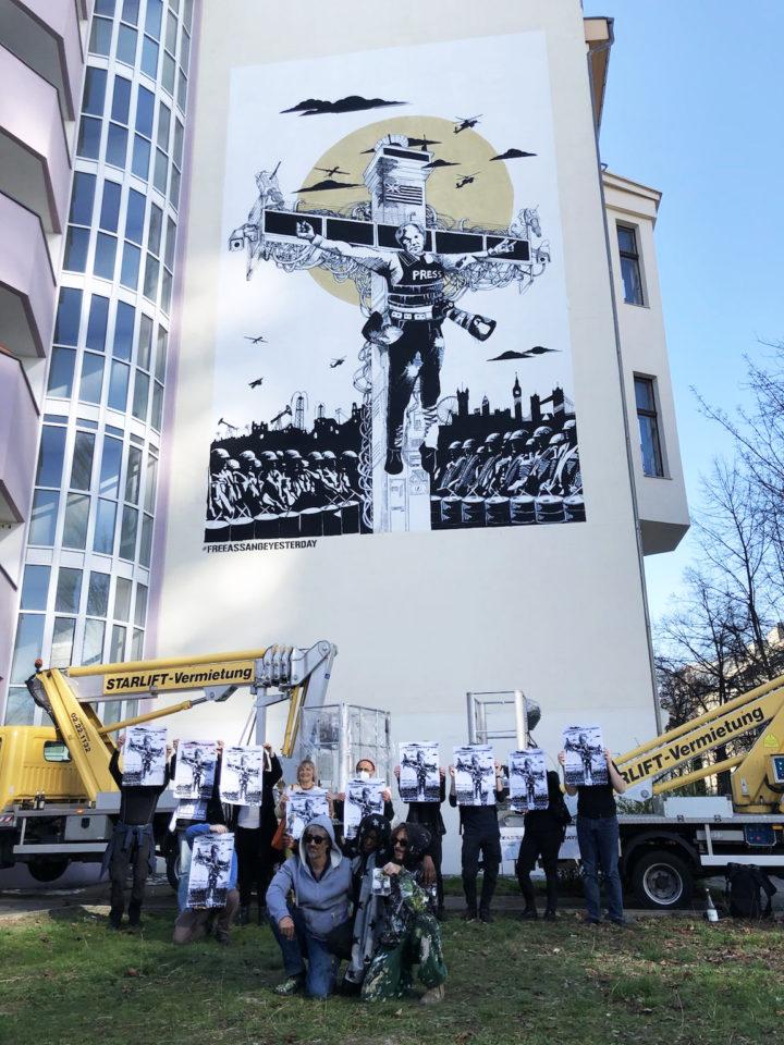 Collateral Crucifixion - Wir machen Druck für die Freilassung von Julian Assange!